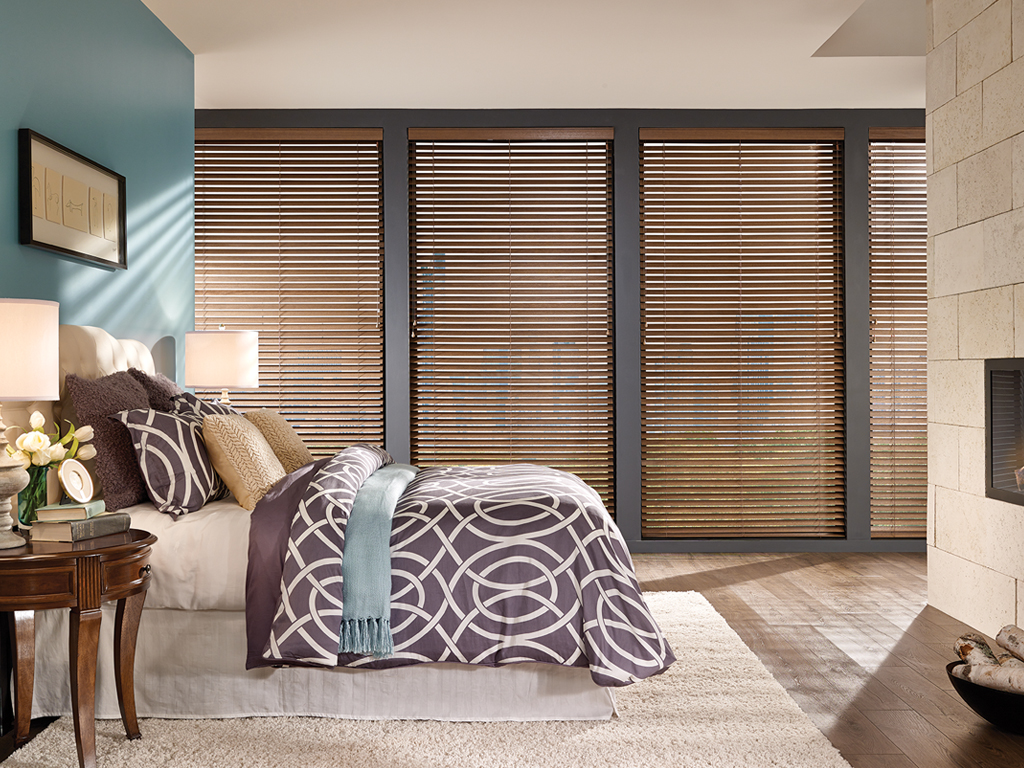 bedroom wooden blinds cryp